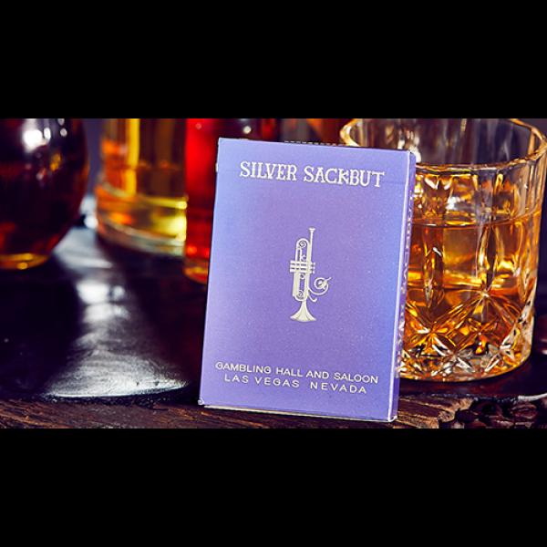 Mazzo di carte Limited Edition Silver Sackbut Play...
