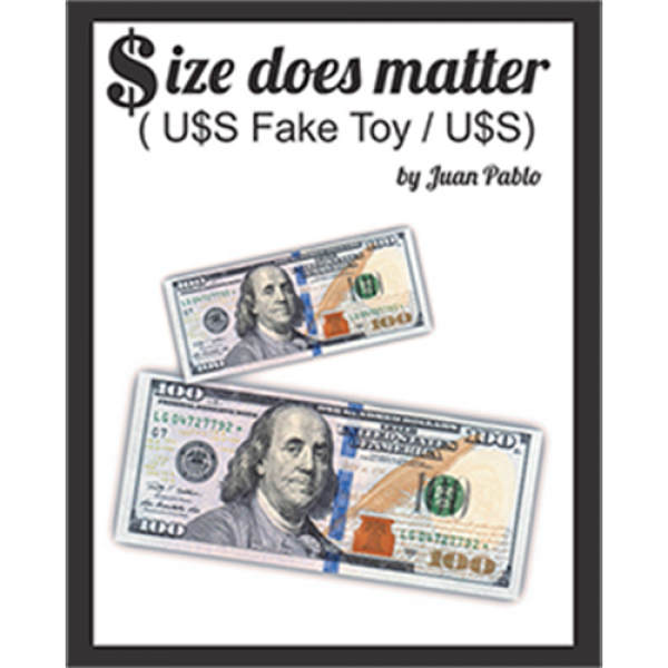 Size Does Matter USD (Gimmicks and Online Instruct...