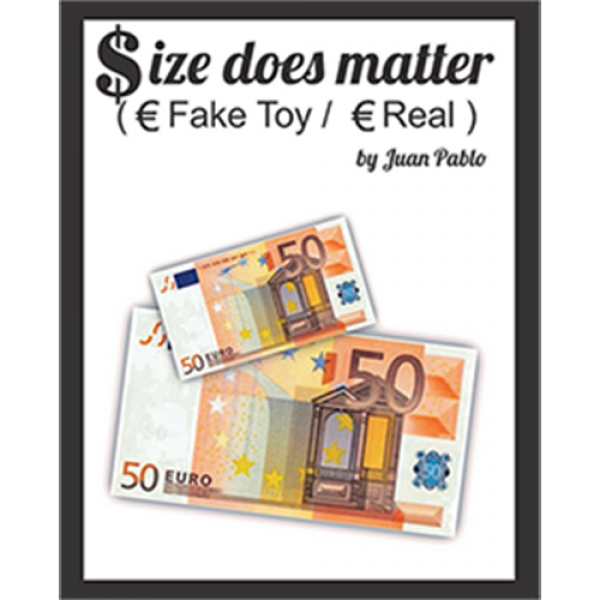 Size Does Matter EURO (Gimmicks and Online Instruc...