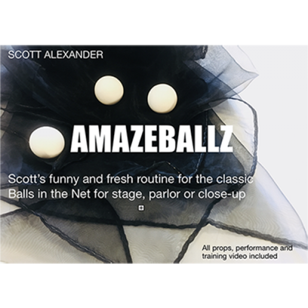 Amazeballz (Gimmicks and Online Instructions) by S...