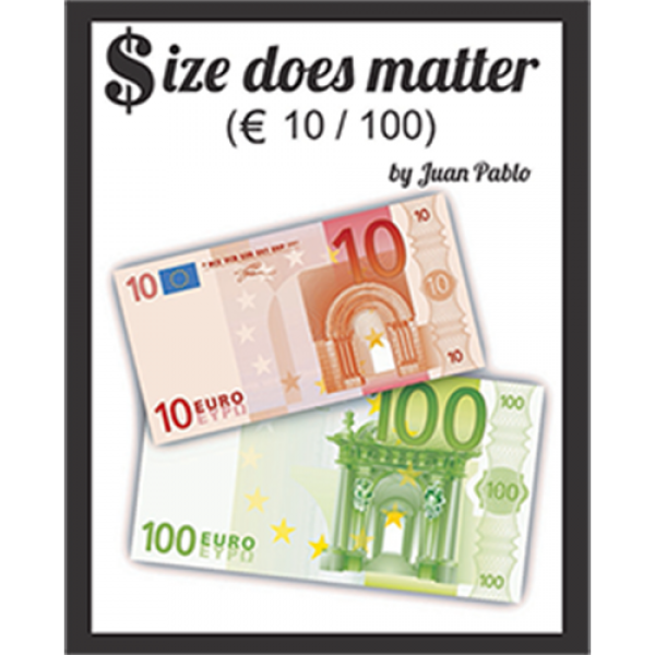 Size Does Matter EURO 10 to 100 (Gimmicks and Onli...