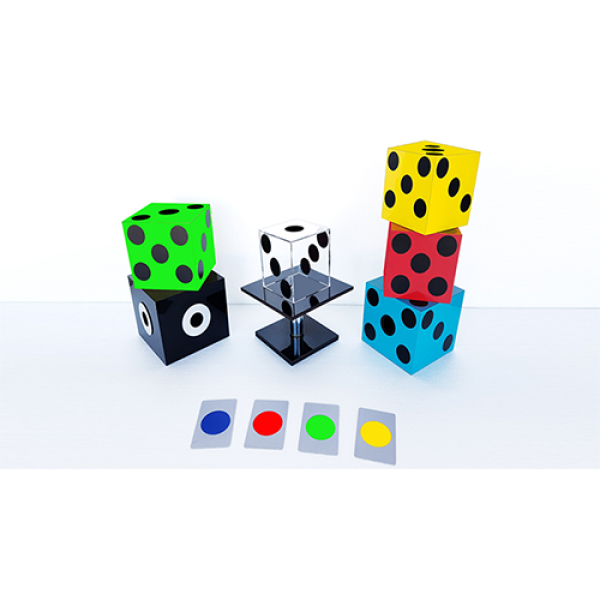 Mental Glassy Dice by Tora Magic