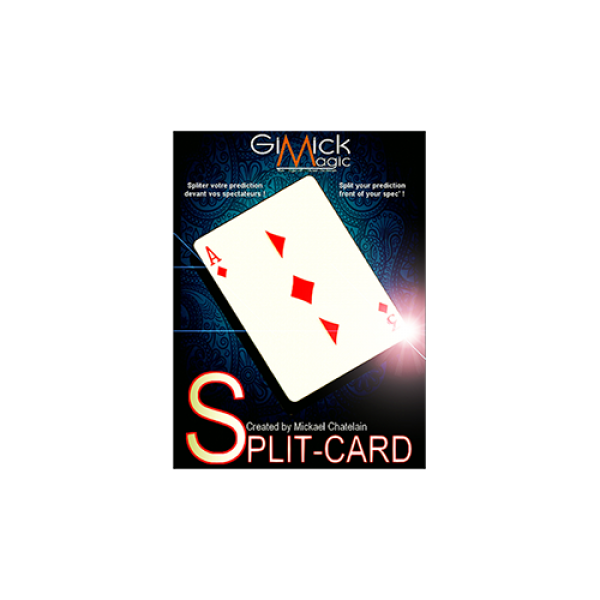 SPLIT-CARD (Red) by Mickael Chatelain