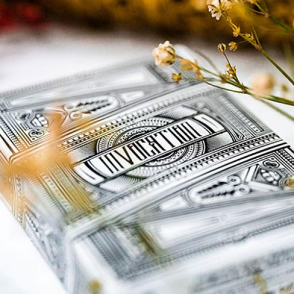Invocation Platinum Playing Cards by Kings Wild Pr...