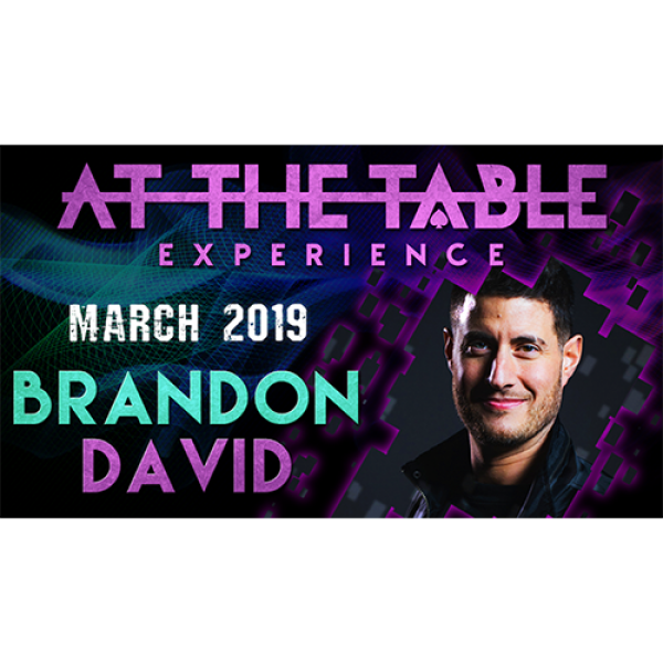 At The Table Live Lecture Brandon David March 6th ...