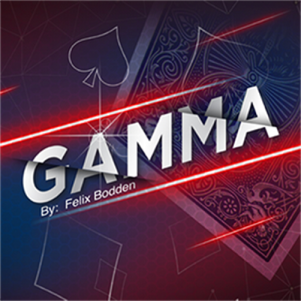 Gamma Blue (Gimmick and Online Instructions) by Fe...
