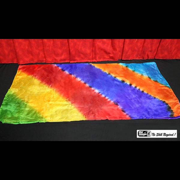 "Production Silk Rainbow (36"" X 36"") by M..."