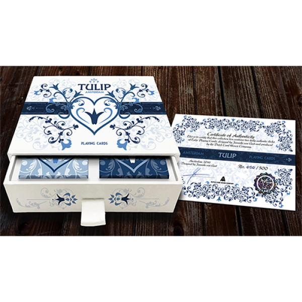 Limited Edition Tulip Playing Cards Set (Dark Blue...