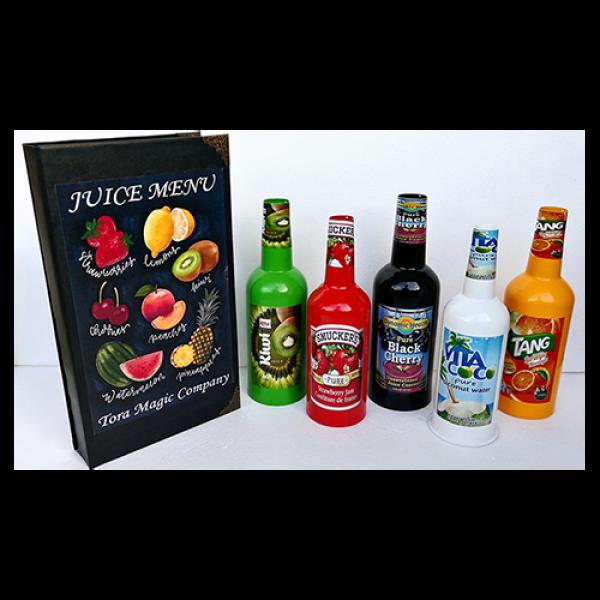 Magical Juice Menu by Tora Magic