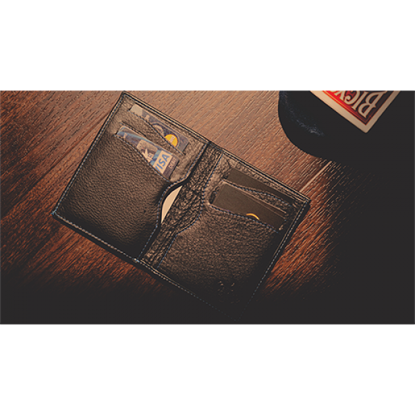 The Rebel Wallet (Gimmick and Online Instructions) by Secret Tannery