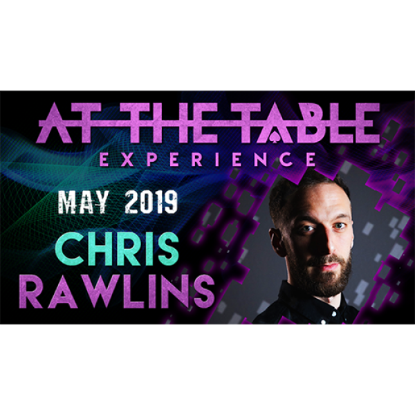 At The Table Live Lecture Chris Rawlins 2 May 15th...