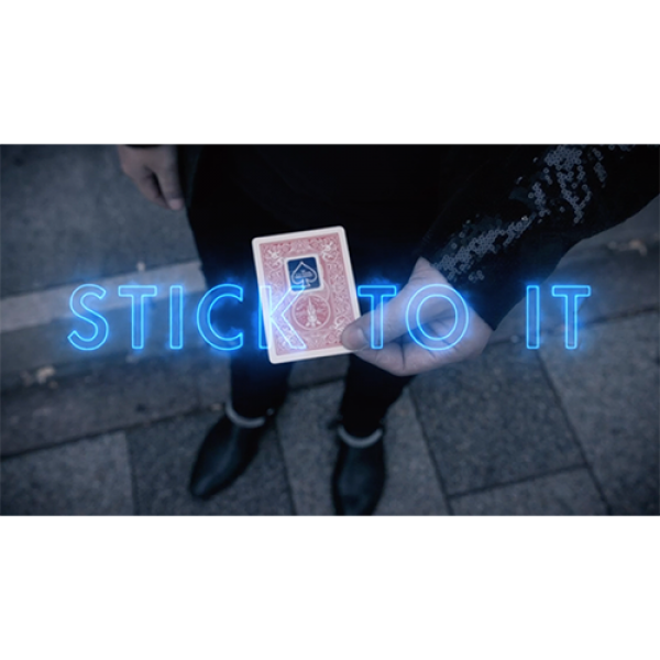 Stick To It Red (DVD and Gimmick) by Shahrul Nizar
