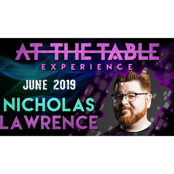 At The Table Live Lecture Nicholas Lawrence June 1...