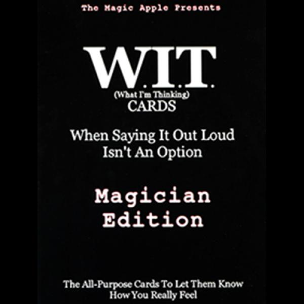 WIT Cards by Duppy Demetrius & Brent Geris