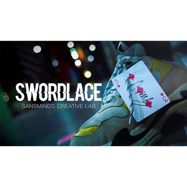 Pro Series: Swordlace Black (DVD and Gimmick) by S...