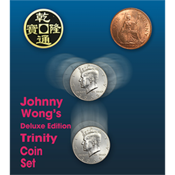 Deluxe Edition Trinity Coin Set (DVD) by Johnny Wo...