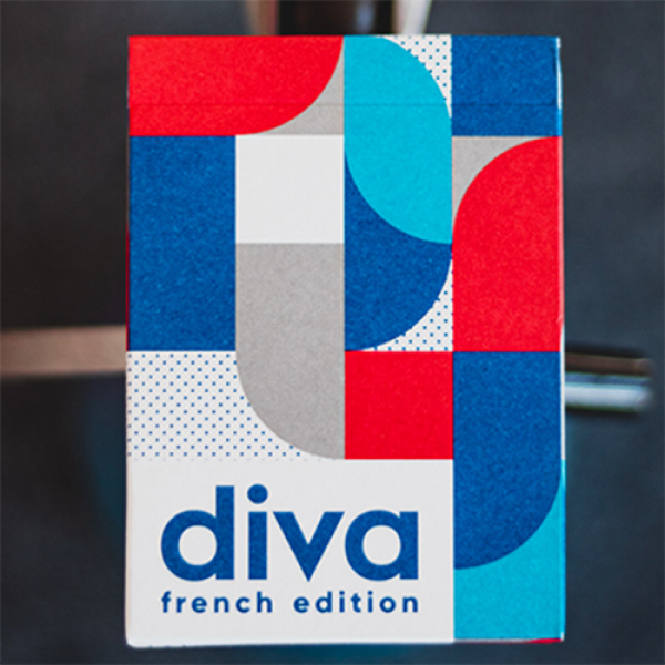 Mazzo di carte Diva Playing Cards French Edition