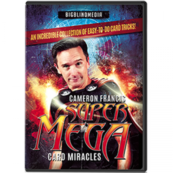 Super Mega Card Miracles by Cameron Francis - DVD
