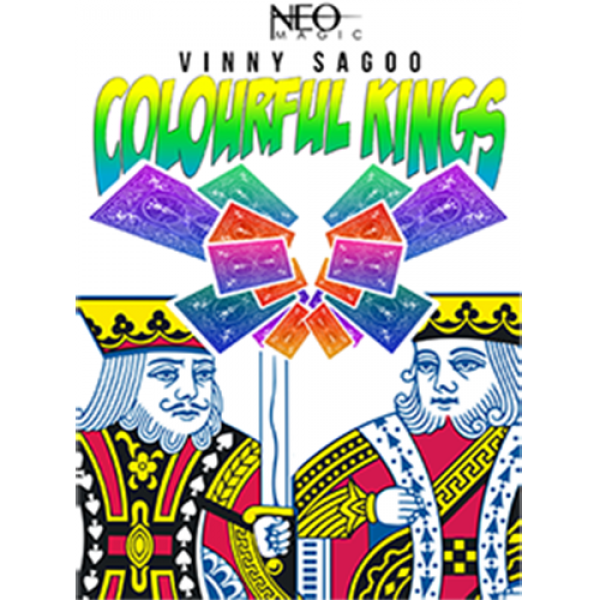 Colorful Kings (Gimmick and Online Instructions) b...