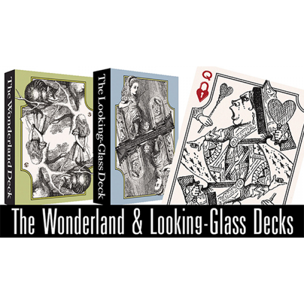 The Wonderland and Looking-Glass Playing Card Set ...