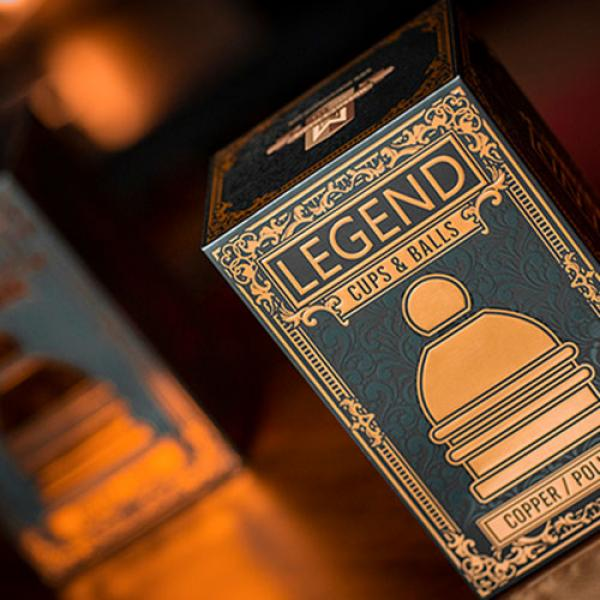 LEGEND Cups and Balls (Copper/Polished) by Murphy'...
