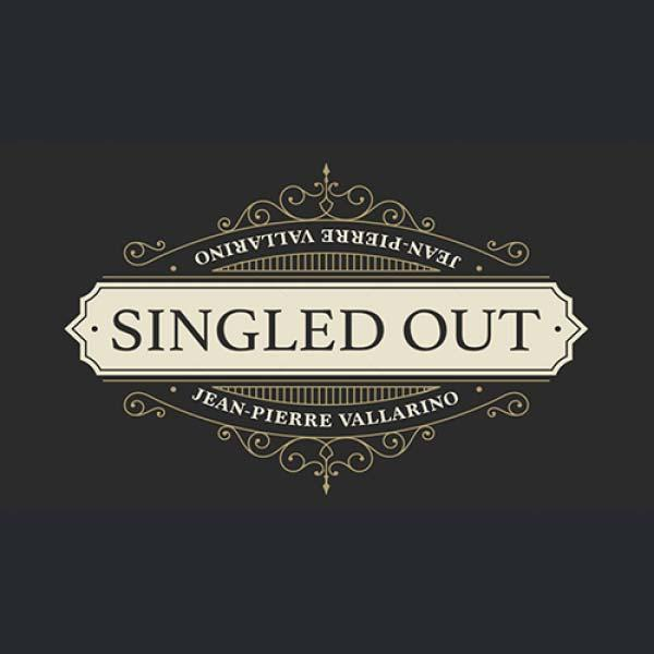 Singled Out BLUE (Gimmicks and Online Instruction) by Jean-Pierre Vallarino