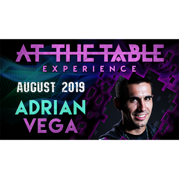 At The Table Live Lecture Adrian Vega August 7th 2...
