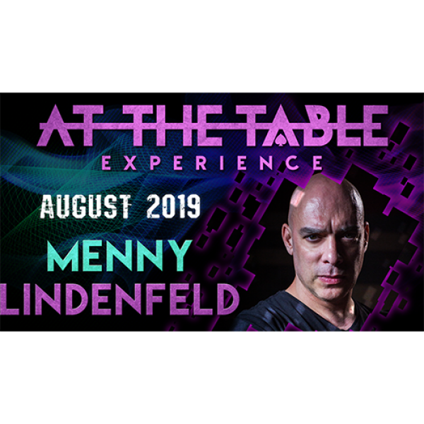 At The Table Live Lecture Menny Lindenfeld 3 Augus...