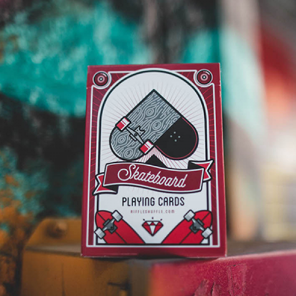 Skateboard V2 (Marked) Playing Cards by Riffle Shu...