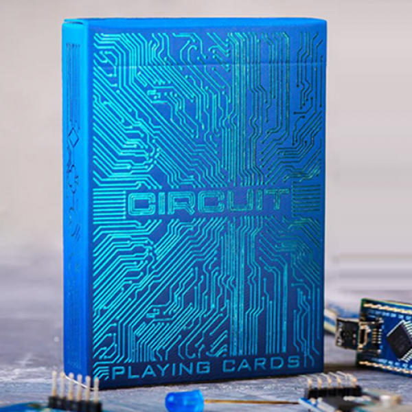 Circuit (Blue) Playing Cards by Elephant Playing C...