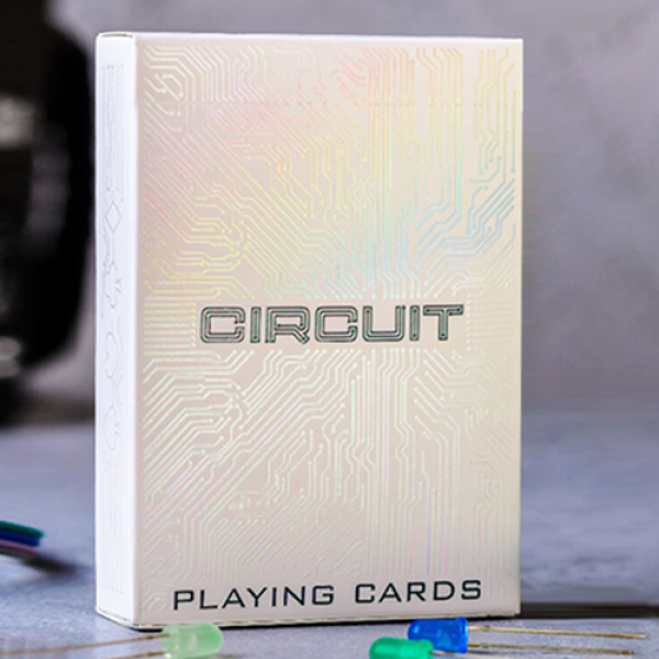 Circuit (White) Playing Cards by Elephant Playing ...