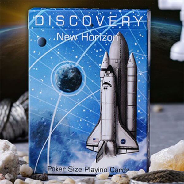 Discovery New Horizon (Blue) Playing Cards by Elep...