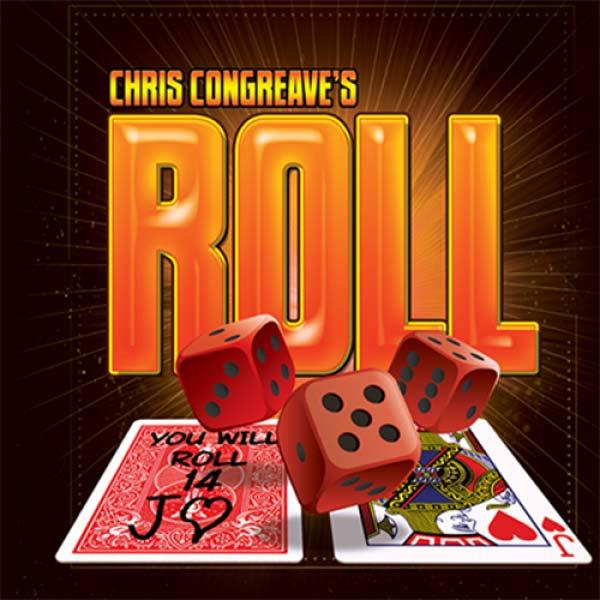 Roll (Gimmicks and Online Instructions) by Chris Congreaves