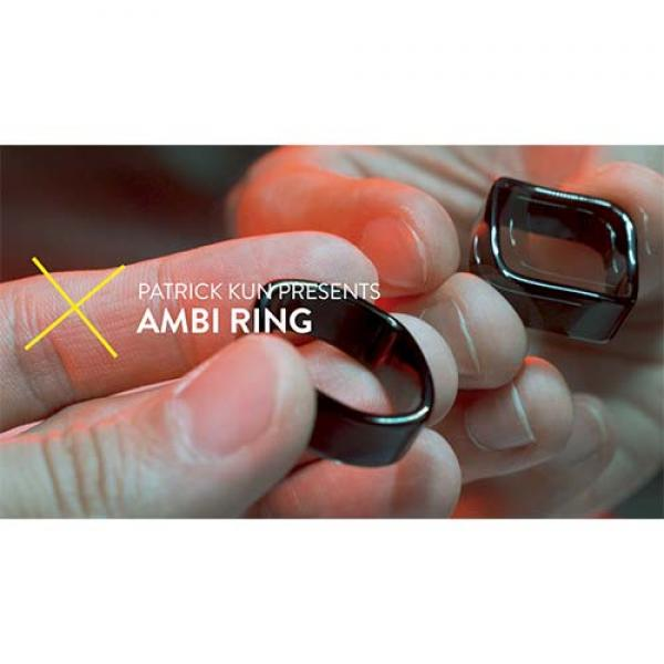 Ambi Ring Black by Patrick Kun