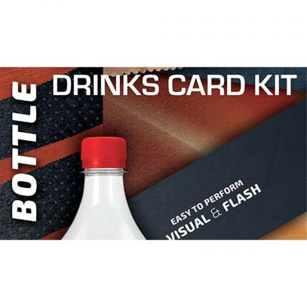 Drink Card KIT for Astonishing Bottle (Gimmick and...