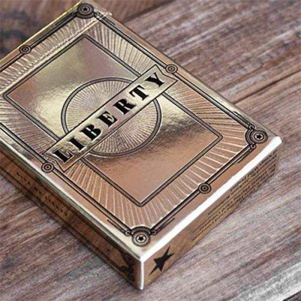 Limited Edition Liberty Playing Cards (Gold) by Ja...