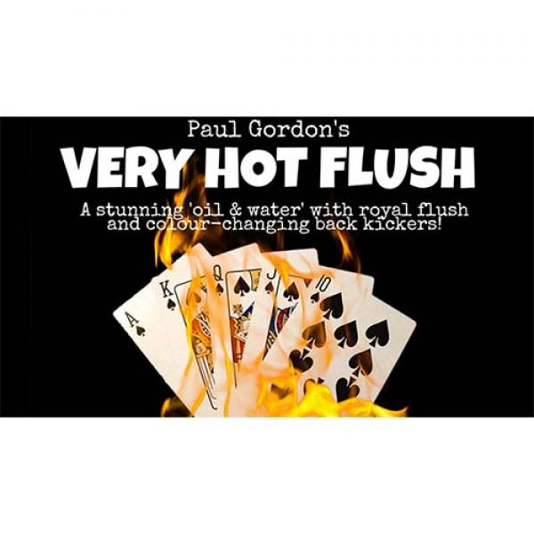 Very Hot Flush by Paul Gordon (Gimmick and Online ...