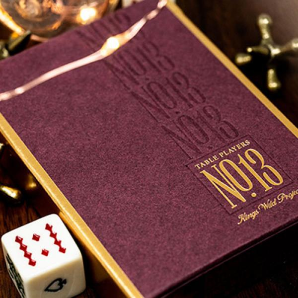 No.13 Table Players Vol. 1 Playing Cards by Kings ...