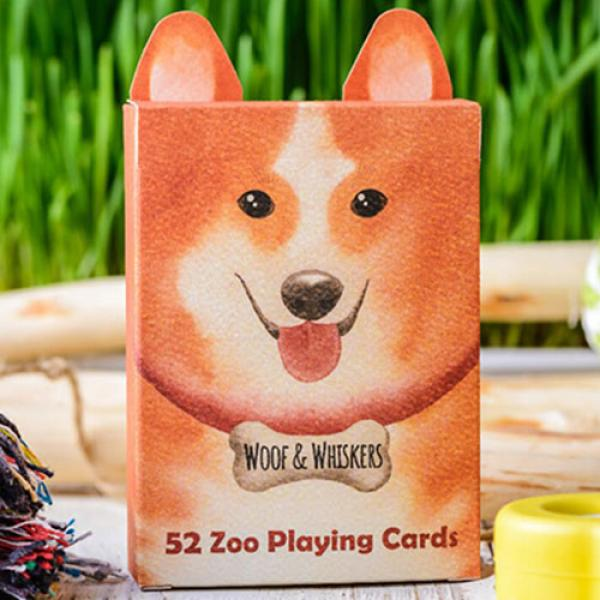 Zoo 52 (Woof Whiskers) Playing Cards by Elephant P...