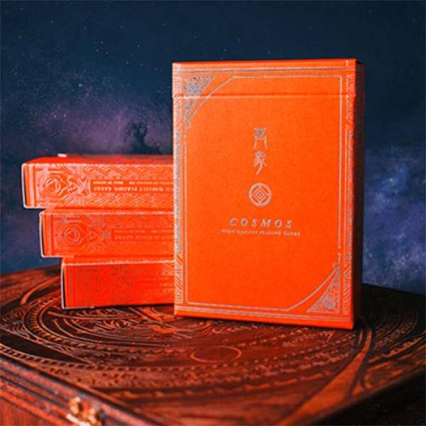 Cosmos Playing Cards (Red)
