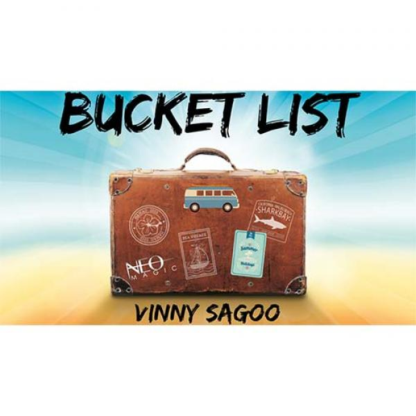 Bucket List (Gimmicks and Online Instructions) by Vinny Sagoo