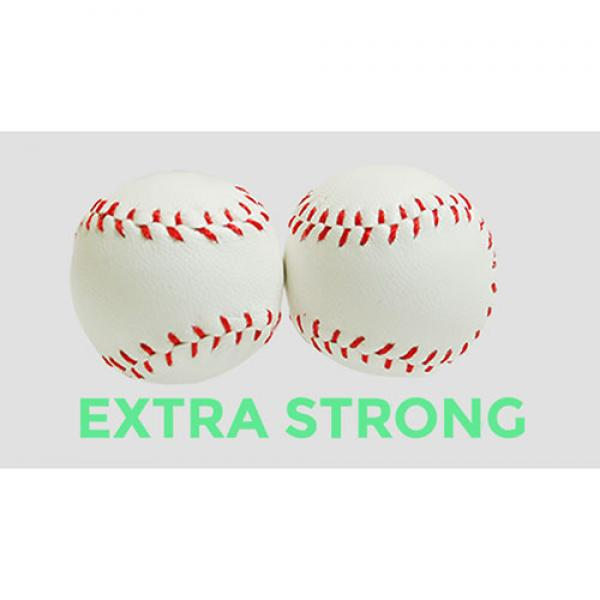 Strong Chop Cup Balls White Leather (Set of 2) by ...