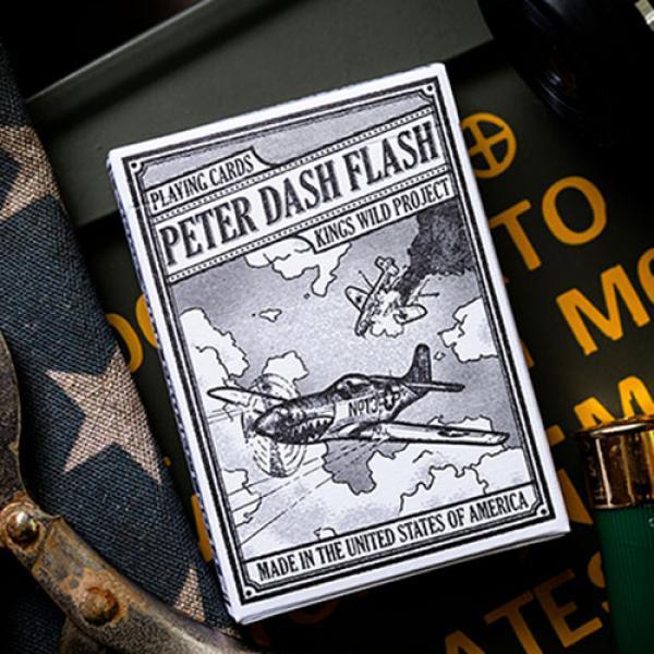 Peter Dash Flash - P51 Mustang Playing Cards by Ki...