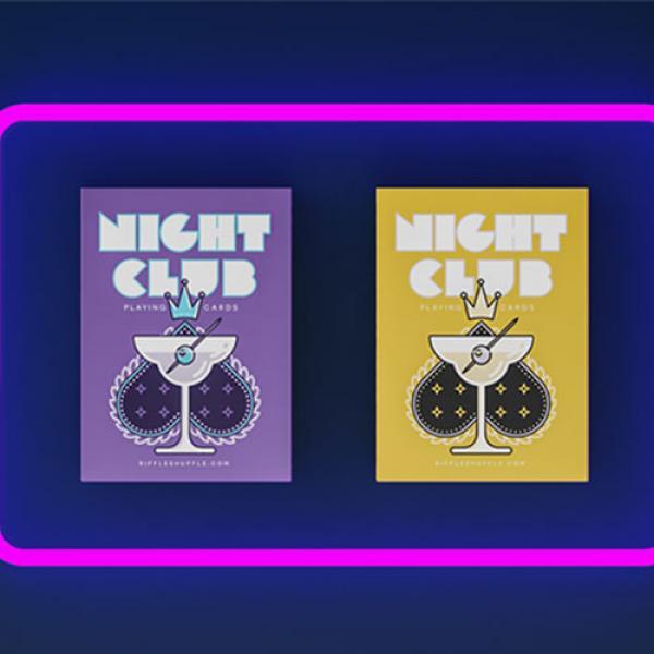 Nightclub Champagne Edition Playing Cards by Riffl...