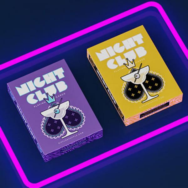 Nightclub UV Edition Playing Cards by Riffle Shuff...