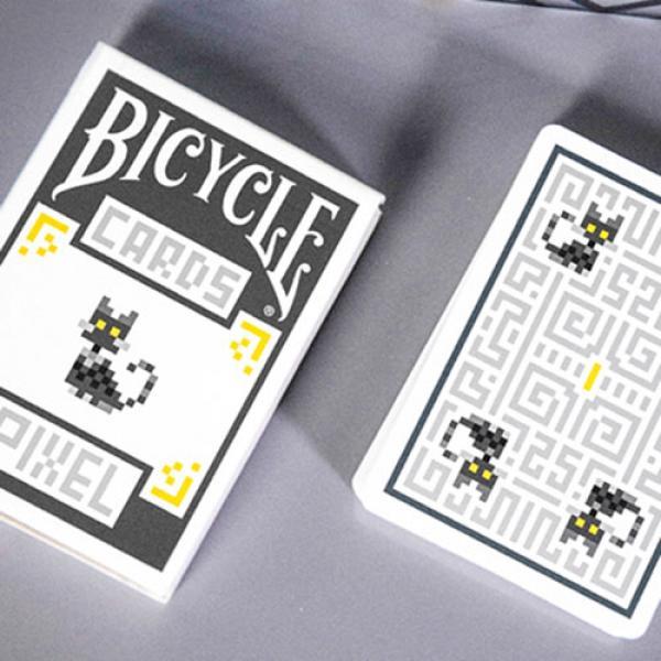Mazzo di carte Bicycle Pixel (Cat) Playing Cards b...