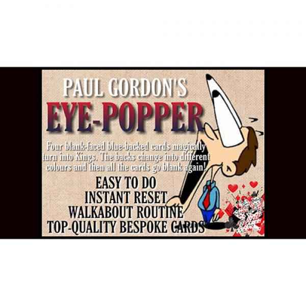 EYE POPPER by Paul Gordon (Gimmick and Online Inst...