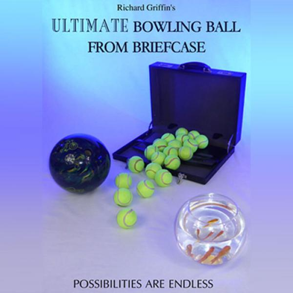 ULTIMATE BOWLING BALL FROM BRIEFCASE by Richard Gr...