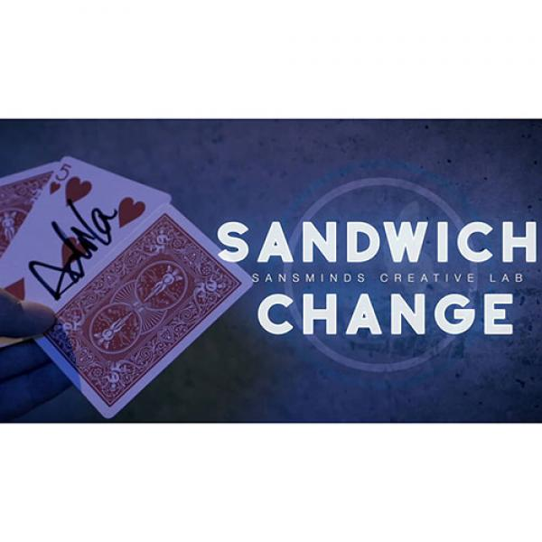 Sandwich Change (Gimmicks and DVD) by SansMinds Cr...