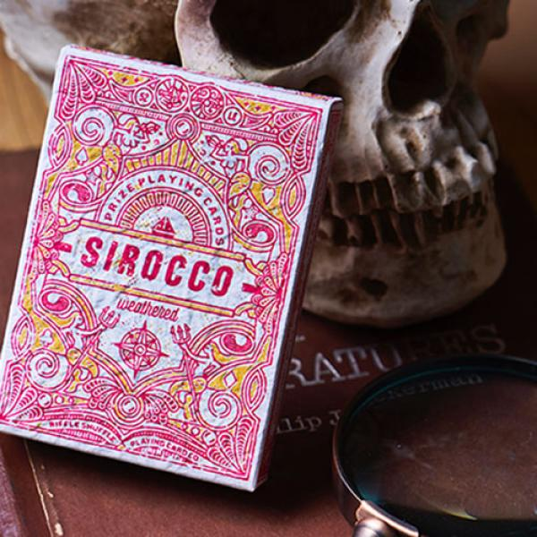 Sirocco Weathered (Numbered Seal)  Playing Cards b...